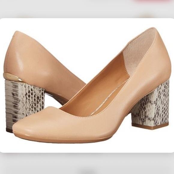 d4e90e2f40c3 Calvin Klein Shoes - Calvin Klein Cirilla Block heel pumps